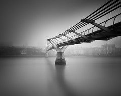 London Fog (mike-mojopin) Tags: london longexposure blackandwhite londonfog