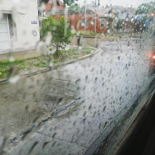 Llueve maaaaal...