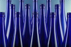 symmetry in blue (*Chris van Dolleweerd*) Tags: bottles blue glass strobist studio reflection chrisvandolleweerd stilllife