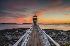 Forrest Gump Lighthouse (matt_krug82) Tags: marshallpoint usa indiansummer ozean seaside nature lighthouse sonyfe1635f4 sony sonyalpha7ii