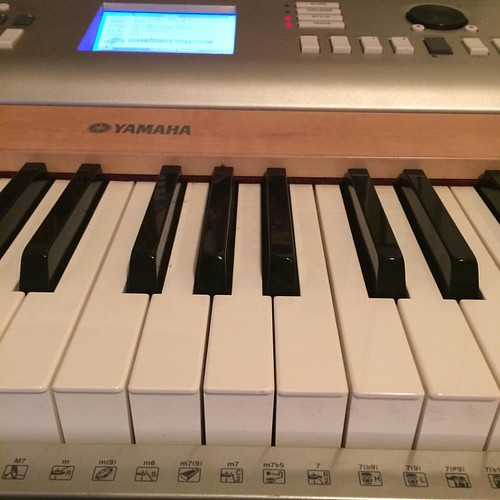Practicing the black keys on the #piano for #epicokc #worship. #dflat or #csharp, it's on! #musician #okc #ok