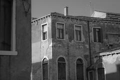 architectural forms, late light, Venice, Italy, Nikon D40, Sigma 18-50mm EX DC MACRO, 10.28.16 (steve aimone) Tags: architecture architecturalforms latelight venice italy nikond40 sigma1850mmexdcmacro blackandwhite monochrome monochromatic