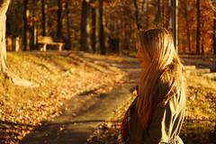 Golden Girl (Out of Ireland Photography ) Tags: girl goldenhour smithtown blydenburgh a65 autumn dublinheadyahoocom dublinhead outofireland outofirelandphotography bokeh