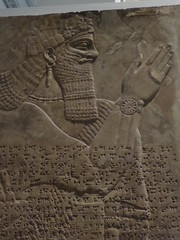 Guardian Spirit (Aidan McRae Thomson) Tags: nimrud relief sculpture assyrian mesopotamia britishmuseum london