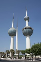 Kuwait Towers (julieannemorse) Tags: kuwait towers city