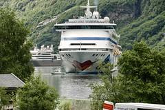 AIDA, Geirangerfjorden, Norway (incommunicadoo) Tags: geirangerfjord norwegen norway aida camping flickr geirangerfjorden geiranger fjord