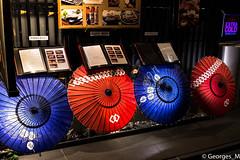 Pontocho umbrellas - Kyoto (Georges_M) Tags: japan kyoto pontocho umbrellas