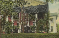 """US NY Buffalo NY 1910 Wilcox residence, where President Theodore Roosevelt took the oath of office, in the drawing room of the home of Ansley Wilcox at 646 Delaware Avenue Buffalo, N.Y.1 (UpNorth Memories - Donald (Don) Harrison) Tags: vintage antique postcard rppc """"don harrison"""" """"upnorth memories"""" upnorth memories upnorthmemories michigan history heritage travel tourism """"michigan roadside restaurants cafes motels hotels """"tourist stops"""" """"travel trailer parks"""" campgrounds cottages cabins """"roadside entertainment"""" """"natural wonders"""" attractions usa puremichigan """" """"railroad ferry"""" """"car excursion"""