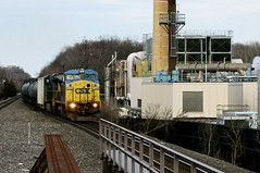 Conrail to CSX (Joseph Stroppel) Tags: conrail csx railroad union nj newark westbound freight transportation