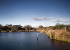Pike Pond (hezitate) Tags: pike pontop pond pontoppike pikepond dipton catchgate derwentside nd grad hdr fence water cloud winter cold