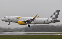 Vueling - Airbus A320-232/S EC-MJB @ Cardiff Rhoose (Shaun Grist) Tags: ecmjb vueling airbus a320 cwl egff shaungrist cardiff cardiffairport cardiffrhoose rhoose wales airport aircraft aviation aeroplanes airline avgeek
