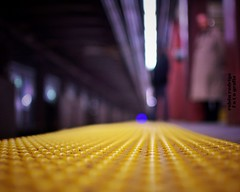 World of sleepers (Mister Blur) Tags: subway station low pointofview depthoffield bokeh new york city 35mm 18 waiting