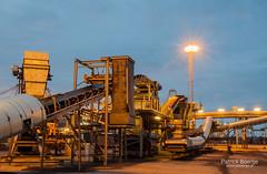 Banden (Patrick Boertje) Tags: netherlands night rotterdam industrial nacht nederland patrick maasvlakte donker schemer banden kolen boertje patrickboertjefotografie