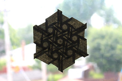 Celtic Circle Tessellation (OrigamiSunshine) Tags: geometric robin circle paper origami celtic tessellation paperfolding scholz origamisunshine