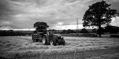 Stainton . (wayman2011) Tags: trees canon farming harvest 5d tractors dales pennines lightroom countydurham teesdale bwlandscapes stainton wayman201