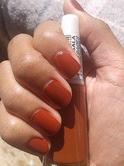 Ludurana - Marsala (By Bruna Marquezine) (Queen the Vampire) Tags: nails unhas ludurana clubedoesmalte abcdasunhas