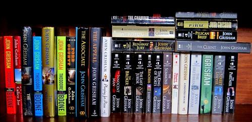 John Grisham book fan photo