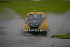Bug splash. (foto.pro) Tags: park water bug rally beetle course splash circuit volkswagon laps oulton
