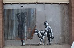 (G. J. Winterboer) Tags: uk streetart graffiti mare satire banksy super antiwar westonsupermare weston anticonsumerism canon5dmkii canon5dmarkii bemusementpark dismaland
