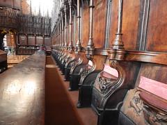 DSCN1904 (Richard Paul Carey) Tags: cathedral medieval carlisle misericords carvedwoodwork