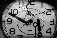 The last tick tock// El ltimo tic tac (Mireia B. L.) Tags: blackandwhite macro clock blancoynegro reloj tictac ticktock macrofotografa brokenclock macromondays blackandwhiteclock relojroto lastticktock blancoynegroreloj ltimotictac brokenglassclock macromondaystick