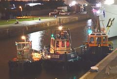 Tugs (2) @ KGV Lock 14-09-15 (AJBC_1) Tags: uk england london night boat ship unitedkingdom progress vessel nighttime tugboat tug eastlondon shipsatnight nikond3200 northwoolwich newham royaldocks londonboroughofnewham purbeckjohn swsessex thamescraftmarineservices kgvlock marinesupportthamesmstltd dlrblog londonsroyaldocks ajc kinggeorgevlock
