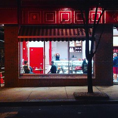264 | 365: Nighthawks (phillytrax) Tags: city urban usa philadelphia window night america square unitedstates pennsylvania centercity pa squareformat clarendon metropolis philly rittenhousesquare metropolitan diners 215 edwardhopper bakeshop hopperesque cityofbrotherlylove project365 downtownphilly iphoneography instagram instagramapp uploaded:by=instagram 2101walnut