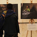 Gonder town residents visit the Art and Photo Exhibition on Girls' Empowerment Campaign