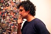 IMG_8638 (Experimental_Sound_Studio) Tags: chicago art collage artopening tiredeyes danmohr chicagogallery jordanmartins audiblegallery