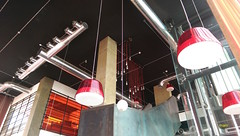 Bulbs & Bottles (aswaqbilaqa) Tags: light red ketchup bottles ngc m8 bulbs jeddah restaurent