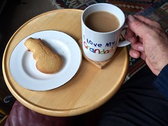 Coffee & a biscuit 168-366 (9) ( Georgie R) Tags: coffee biscuit