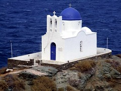Chapel of the 7 Martyrs on Sifnos island DSCF3886 (mygreecetravelblog) Tags: sea building church rock architecture landscape island coast seaside outdoor chapel greece greekislands sifnos cyclades sifnosisland chapelofthe7martyrssifnos chapelofthesevenmartyrs sevenmartyrschurchsifnos