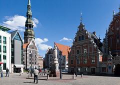 House of Blackheads, Riga, Latvia (Dmitriy Sakharov) Tags: house estonia latvia riga blackheads