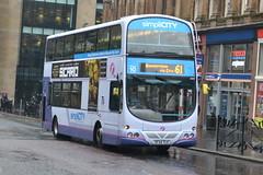 First Volvo B7TL 32620 SF54TLU - Glasgow (dwb transport photos) Tags: bus eclipse volvo glasgow first wright gemini decker 32620 sf54tlu