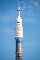 Expedition 41 Rollout (201409230031HQ) (NASA HQ PHOTO) Tags: train nasa kazakhstan baikonur rollout baikonurcosmodrome soyuzrocket expedition41 russianfederalspaceagencyroscosmos aubreygemignani soyuztma14m