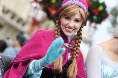 Once Upon a Christmastime (MediumHero6) Tags: anna face frozen orlando mine character parks disney wdw waltdisneyworld mk magickingdom forida mainstreetusa disneyparks facecharacter ouac mickeysonceuponachristmastimeparade