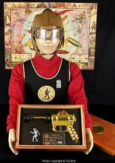 Buck Rogers XZ-34 Helmet & Vest (toytent) Tags: buckrogers xz34 leather helmet visor vest solarscouts toytent3833 toytentcom vintagetoysforsale