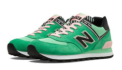 NB 574 Women New Balance 574 Palm Springs Made in USA Green Sneaker (RobertThrashy) Tags: beautiful shopping chic runner runningshoes coupon womensshoes retrostyle popshoes shoppingonline newbalance574 fashionsneakers intrend girlsrunningshoes storediscount