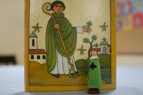a finished st. patrick