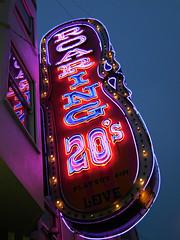 Roaring 20's (kenjet) Tags: sf sanfrancisco city sign club neon nightclub northbeach neonsign roaring 20s roaring20s