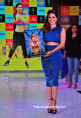 Sunny Leone in Blue Crop Top and Pencil Skirt with Black Strap High Heels (shaf_prince) Tags: croptop pencilskirt sunnyleone bollywoodactress teenfashion celebritydresses bollywooddesignerdresses actressinbluedresses actressinskirts actressworkoutdvds superhitsunnymornings