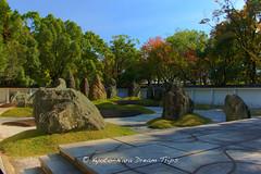 Toyotomi Hideyoshis Castle in Osaka. (KyotoDreamTrips) Tags: japan  osaka    mireishigemori toyotomihideyoshi japanesecastles  osakaj hkokushrine shsekitei