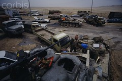 0000264043-007 (jr7een) Tags: two people truck asia tank military middleeast transportation arabia vehicle kuwait convoy twopeople bombing kuwaitcity interaction attacking militaryvehicle persiangulfwar motorvehicle persiangulfstates southwestasia militaryconvoy