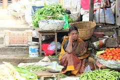 Napping on the job (bluelotus92) Tags: sleeping people woman india vegetables market marketplace karnataka mysore sleepingonthejob vegetableseller mysuru womanseller devarajursmarket sleepingperson devarajaursmarket
