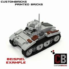 Lego Custom Panzer Tank PzKpfw 1 CB01-E (LA-Design2012) Tags: door tile pattern tank lego wwii luke fliese bunker round ww2 hatch custom mbt printed armored panzer halftrack bundeswehr reinforced 2x2 klappe sdkfz einstieg 4150 custombricks beruckte 4150px18 4150pb139 4150pb119 4150px24 panzerklappe 4150px panzerluke