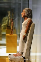 Ancient Egyptian Statue (konde) Tags: statue museum limestone ancientegypt oldkingdom 5thdynasty