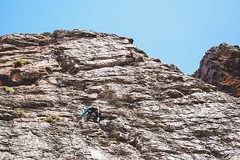 Cajn del Maipo - Valles las Arenas (55) (lxrdrg) Tags: climbing montaa escalada cajondelmaipo escaladadeportiva vallelasarenas pareddejabba pareddejabbah