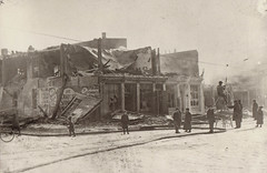 Fire Wreckage, Business Block