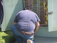 Electrician crack 2 (I.E. Bear II) Tags: bear hairy man hot sexy guy ass gut big furry underwear random fat butt handsome chub bum dude crack belly buttcrack builders bubba beerbelly chubby guapo thick gordo bellies panza plumbers asscrack coinslot moobs cofrinho panzon barrigon pansa stocky chonies panson