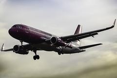 Airbus A320-232 Wizzair HA-LYF (airbusphotos) Tags: airplane aircraft aviation landing airbus a320 wizzair landvetter megashot megaplane halyf